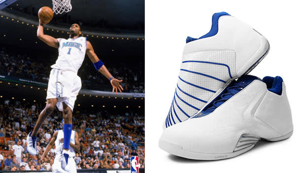 History of Tracy McGrady in the adidas T-MAC