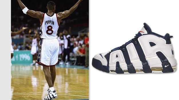 Scottie Pippen United States Nike Air More Uptempo