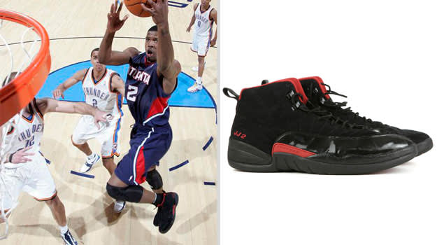 Joe Johnson Atlanta Hawks Air Jordan XII