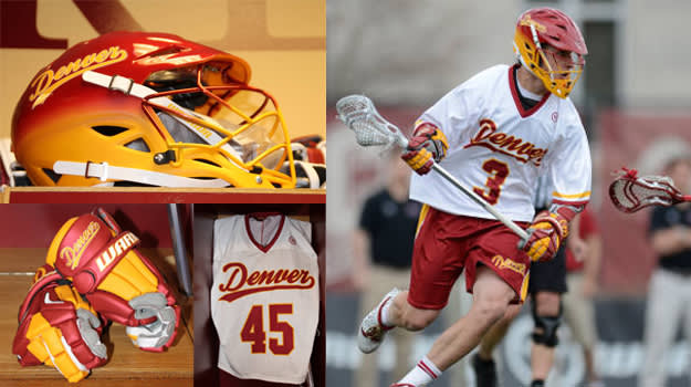 Denver Pioneers 2014 Lacrosse Throwbacks