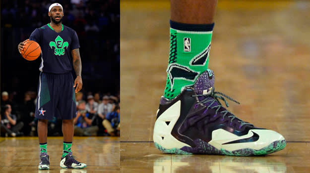 by the numbers lebron james� stats for each sneaker worn
