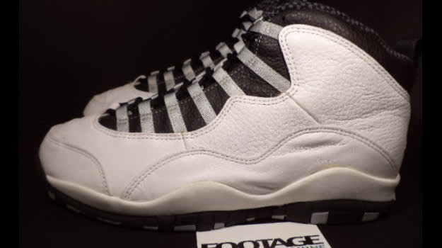 Air Jordan 10 Toe Cap