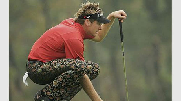 Poulter Worst Golf Outfits