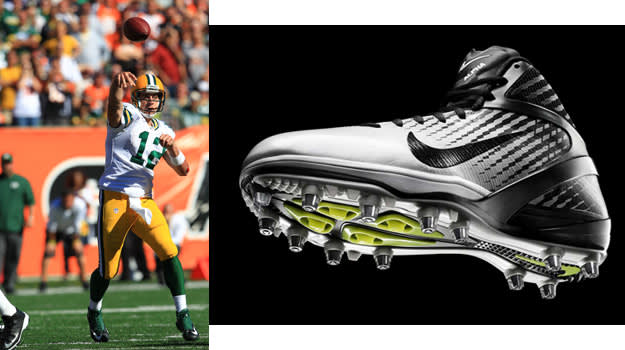 Aaron Rodgers - Nike Zoom Alpha Talon