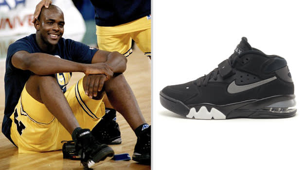 Chris Webber Michigan Wolverines Nike Air Force Max
