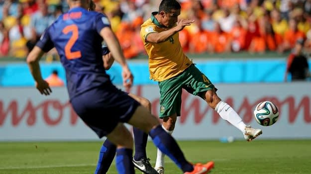 Tim Cahill Finish