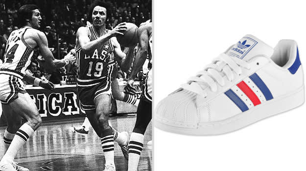 3f3547ef714a The molded rubber outsoles also kept the Knicks  star forward grounded as  he battled for position with the West s Elvin Hayes throughout the game.
