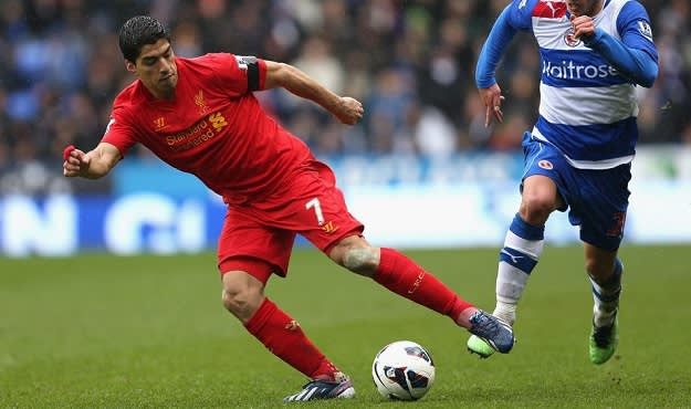 Strikers Luis Suarez