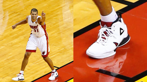 Shane Battier in the PEAK Battier 7 Lite
