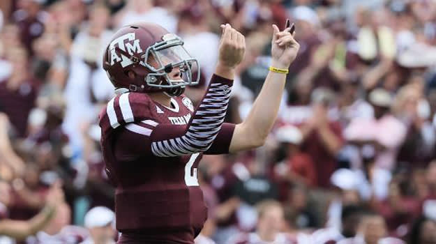 Johnny Manziel money sign