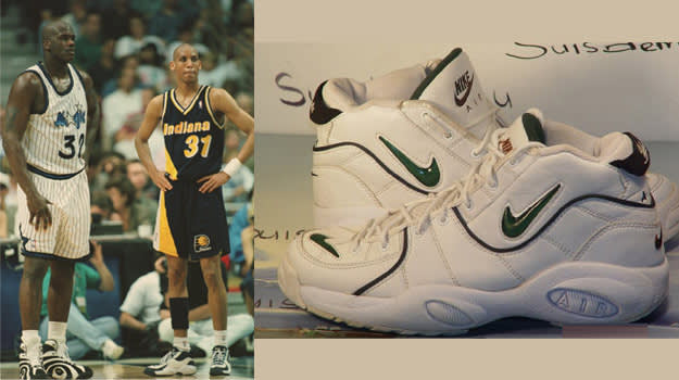 Reggie Miller in the Nike Air Thrill Flight