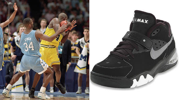 Chris Webber in the Nike Air Force Max