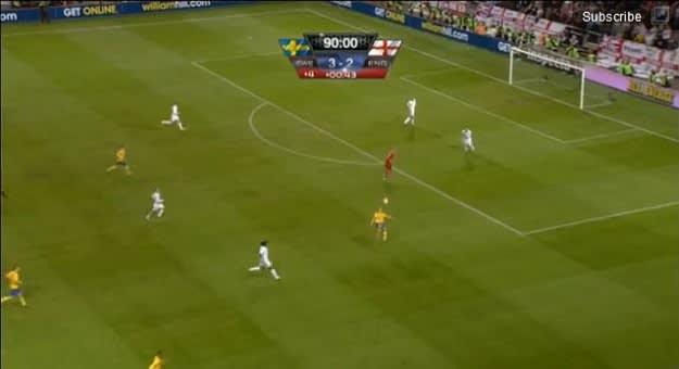 Ibra Goal vs England