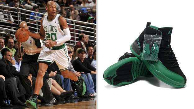 Ray Allen Boston Celtics Air Jordan XII