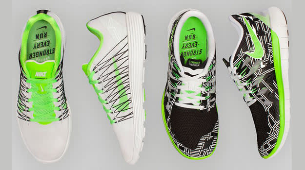 "Nike ""Stronger Every Run"" collection"