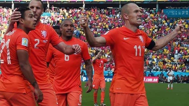 Robben Celebration
