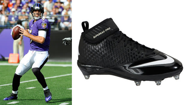 Joe Flacco - Nike Lunar Super Bad D X