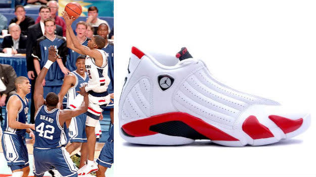 Richard Hamilton in the Air Jordan 14