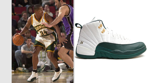 Ray Allen Seattle Supersonics Air Jordan XII