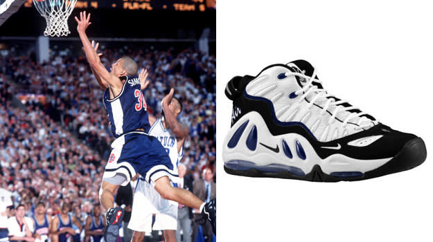 Miles Simon in the Nike Air Max Uptempo 97