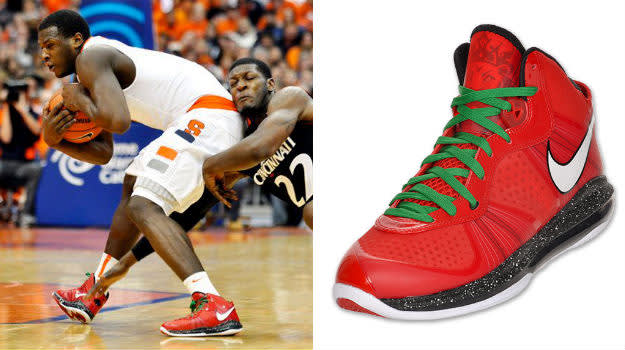 dion waiters nike lebron 8 christmas