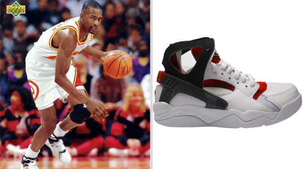 Stacey Augmon Nike Air Flight Huarache