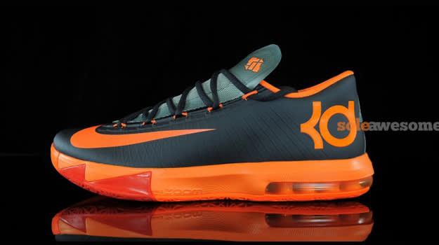 Nike KD 6 Team Orange