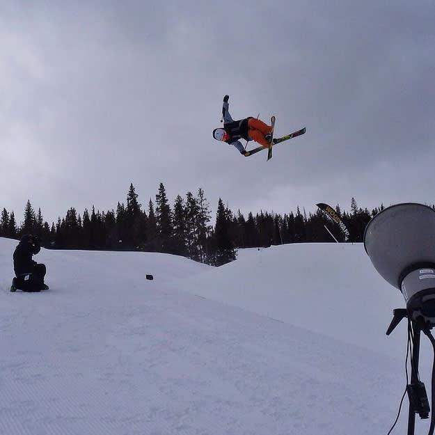 Ski Half Pipe