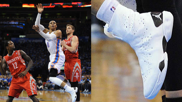 Russell Westbrook in the Air Jordan XX8