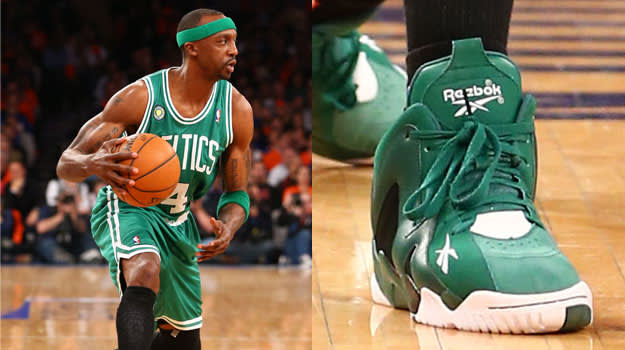 Jason Terry in the Reebok Kamikaze II PE