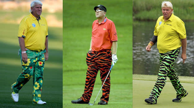 John Daly worst Outfits