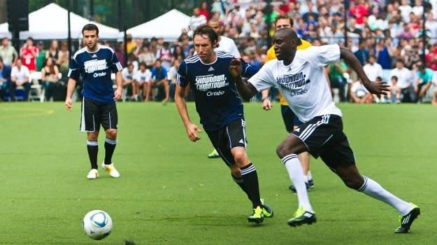 Steve Nash To Hold Charity Soccer Showdown - Look to the Stars