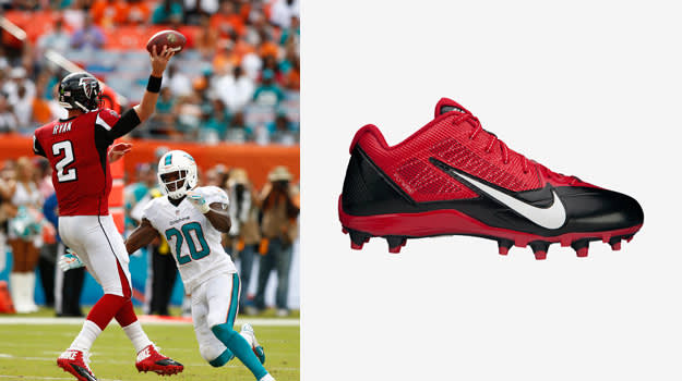 Matt Ryan Nike Alpha Pro TD Football Cleats