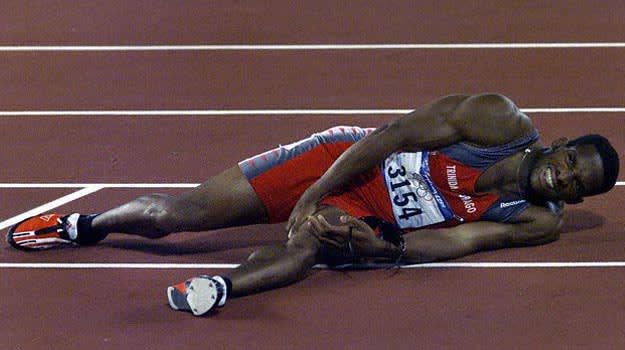 Ato Boldon Injury