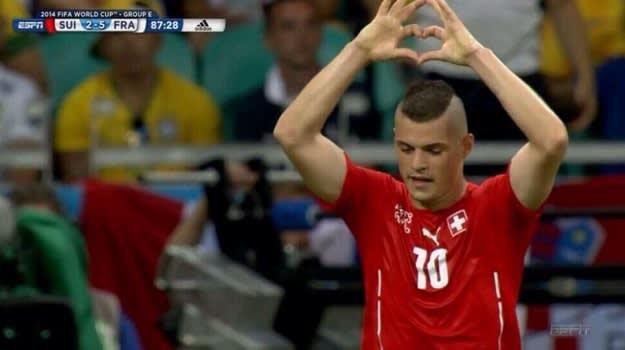 Goal Xhaka