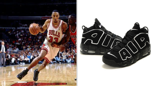 Scottie Pippen Chicago Bulls Nike Air More Uptempo