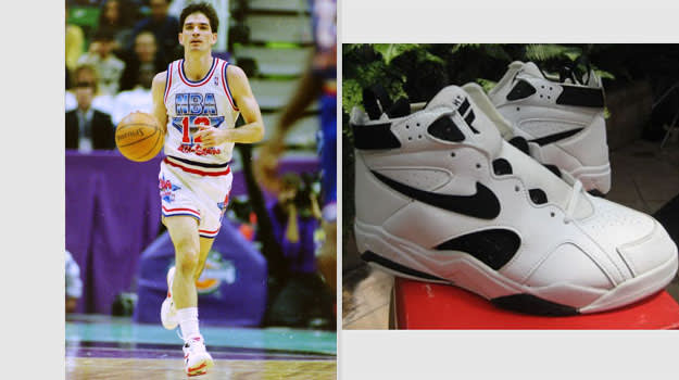 John Stockton Utah Jazz Nike Air Maestro