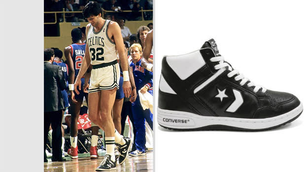 Kevin McHale Boston Celtics Converse Weapon