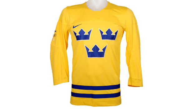 Sweden Olympic Jersey