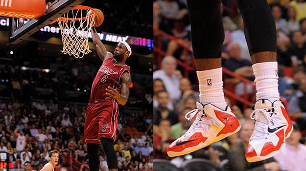 Nike LeBron X Elite PE