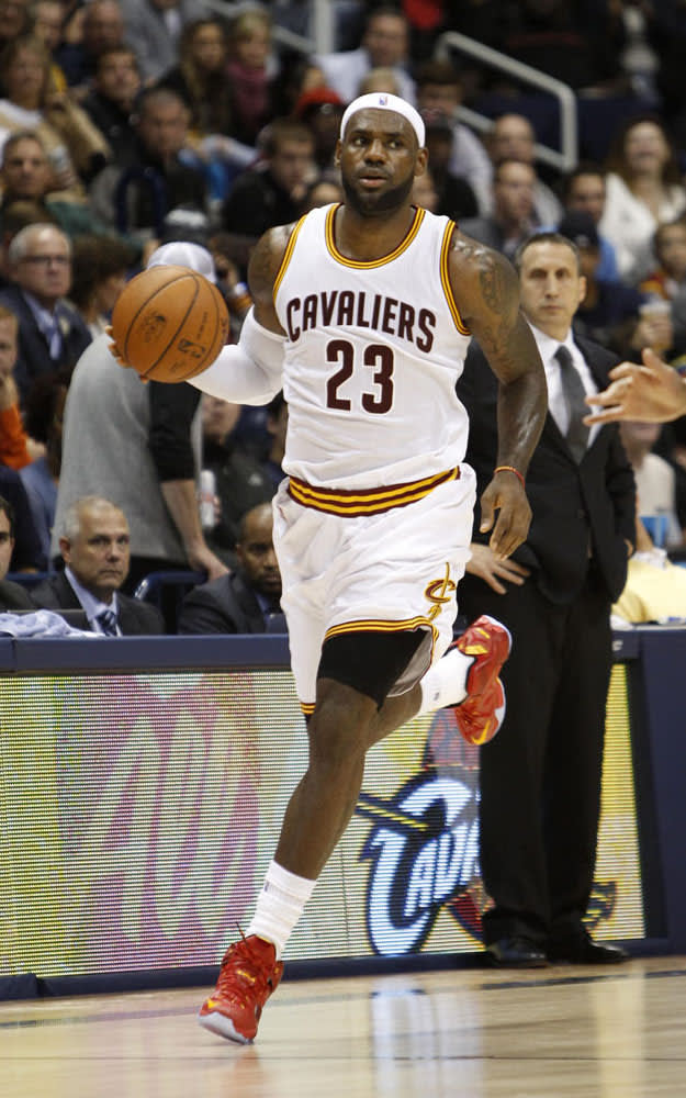 LeBron Breaks Out His First Player Exclusive of the Year ...
