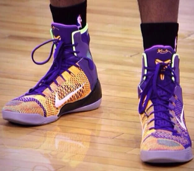 Nike Kobe 9 Elite Lakers PE