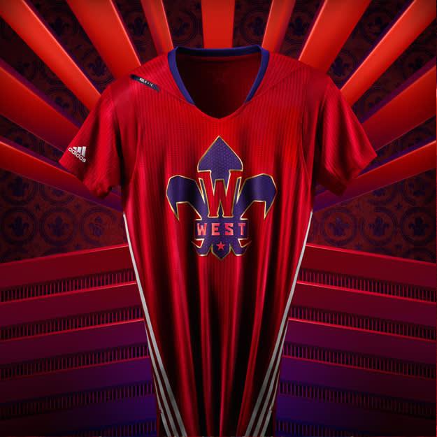 adidas NBA All-Star Jersey WEST copy