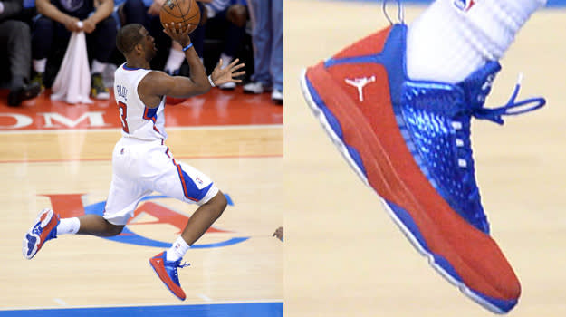 Chris Paul in the Jordan CP3.VI AE