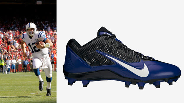 Andrew Luck Nike Alpha Pro TD Football Cleats