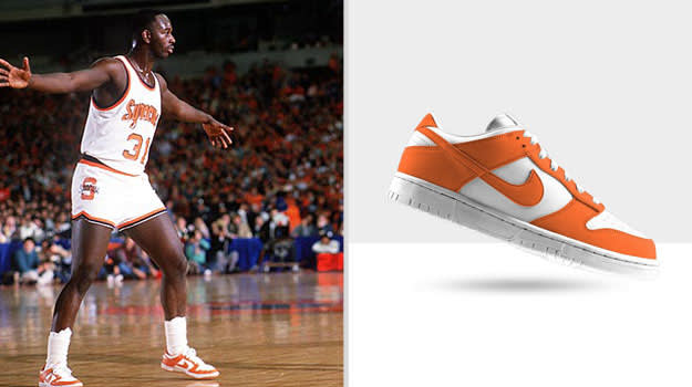 Pearl Washington Syracuse University Nike Dunk