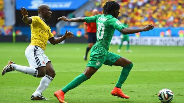Gervinho Ivory Coast