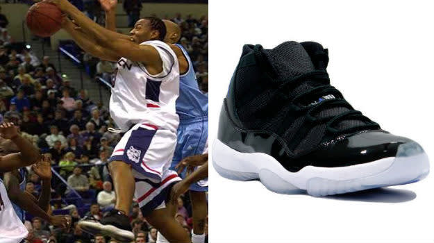 caron butler air jordan xi space jam