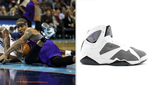 Michael Beasley Phoenix Suns Air Jordan VII