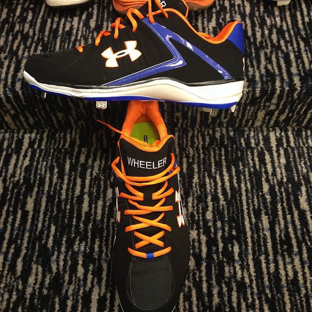 Wheeler's Custom UA Cleats